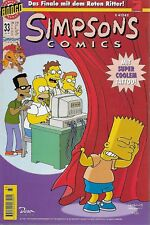 Simpsons Comics Nr.33 / 1999 Dino Verlag / Mit Simpsons Tattoos