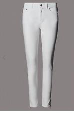 M&S Autograph Caviglia Zip Skinny Jeans Taglia UK20/EUR48 di lunghezza