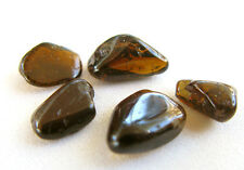 5pcs Tourmaline Crystal HEALING Gemstone 100% NATURAL Dravite Polished Rock GEMS