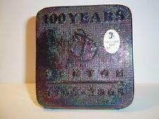 Fenton Glass AMETHYST CARNIVAL 100th Anniversary 2005 LOGO DEALER DISPLAY SIGN