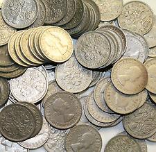 100 limpie sixpences vale la pena un vistazo!!! el poste libre del Reino Unido!!!