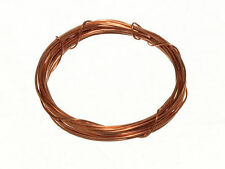 NEW 3M X 0.6MM COPPER PICTURE MIRROR FRAME HANGING WIRE 12KG BREAKWEIGHT  (6 rol