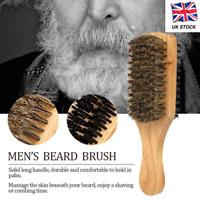 100 % BOAR REINFORCED BRISTLE HARD & SOFT BEARD BRUSH FOR HAIR & GROOMING MEDIUM