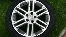 VAUXHALL VECTRA C SET OF 4 X ALLOY WHEELS AND TYRES 225/45/R17 , 5 STUD SRI