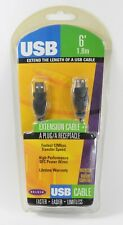Belkin 6' USB2.0 A male-female extension cable, new & sealed #F3U134-06