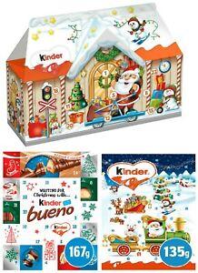 Kinder Advent Calendar 3D House Bueno Ferrero Chocolate Christmas Gift For Kids