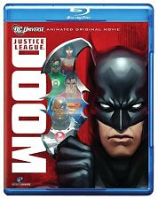 JUSTICE LEAGUE : DOOM   (DC animated) -  Blu Ray - Sealed Region free