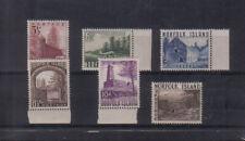 Norfolk Island 1953 set very lightly mounted mint