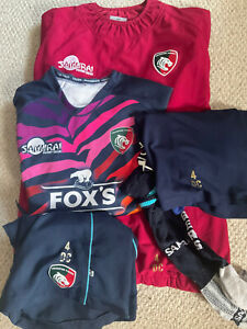 Dan Cole Leicester Tigers Training Kit