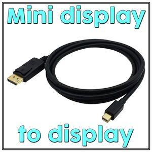 Mini Display Port to DisplayPort Cable Ultra HD 4K DP for MacBook Pro Air iMac
