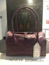 5eaddb4e8 HENRY BEGUELIN Hand/Shoulder Bag Mulberry Mirtillo 'Malibu XS' Dustbag NWT  Other