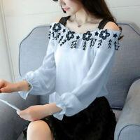 Blusas De Mujer Camisas Causales Tops De Moda Blusa De Camisa Mujeres Ropa New