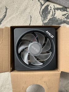 AMD AM4 Wraith Prism Cooler 105w with RGB LED Ring USED + CABLES
