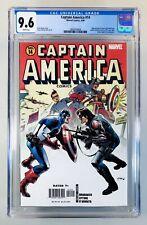 CAPTAIN AMERICA #14~Marvel, 2006~Cap vs. Winter Soldier~NM+ CGC 9.6 WP