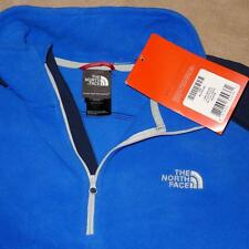 The North Face Mens Polartec Glacier Delta Quarter Zip Pullover, XXL/Blue - NWT!