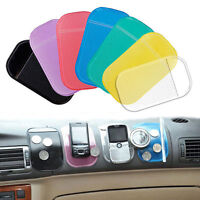 5Pcs Magic Anti Slip Car Dash Non Slip Dashboard Pad Sticky Phone Holder Mat