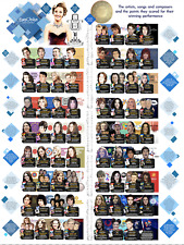 Eurovision Song Contest Winners Poster size A0