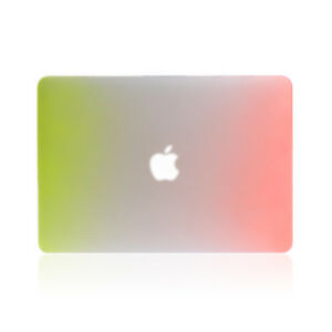 "Matte Rainbow Hard Case Laptop Shell For MacBook Air 13"" A1932"