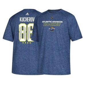 Nikita Kucherov Tampa Bay Lightning NHL Adidas Men's All Star Blue T-Shirt