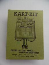 c.1950s KART-KIT Box Golf Hand Cart Caddy Ball Tee Score Card Holder Vintage