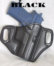 * ATI 1911 5 w/rail  custom leather holster choice hand, lining and color