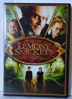 Lemony Snicket's A Series of Unfortunate Events (Widescreen DVD, 2013)