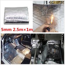 2.5X1M Car Firewall Heat Shield Sound Deadener Insulation Deadening Mat Aluminum