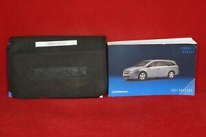 2011 Honda Odyssey Owner's Manual