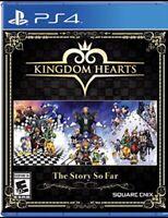 KINGDOM HEARTS PS4 THE STORY SO FAR PLAYSTATION In Stock Ships Today!