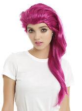 Pokemon GO Jessie Long Wavy Pink Purple Synthetic Costume Cosplay Dress Up Wig