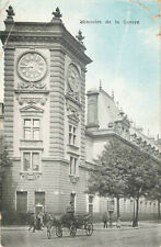 More details for ministere de la guerre paris france rare vintage postcard 1907.