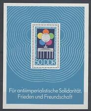 GERMANIA - DDR - BF - 1973 - 10° Festival mondiale della gioventù, a Berlino