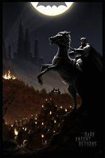 The Dark Knight Returns by JC Richard MONDO Print Batman Poster #d of 275