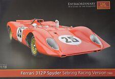 Ferrari 312P prochure catálogo A4 4 páginas