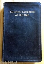 Electrical Equipment of the Car Butler 1926 Wiring Diagrams Foldout Plates VOL 3