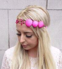 Hot Pink Real Sea Shell Headband Headpiece Mermaid Crown Halloween Ariel 3928