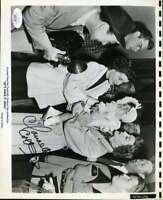 Claudette Colbert JSA Coa Signed 8x10 Photo Autograph
