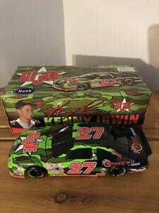 1997 Kenny Irwin Jr. #27 G.I. Joe 1/24 Action Black Window Bank NASCAR Diecast