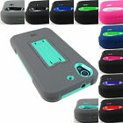 FOR HTC DESIRE 626 626s 625 RUGGED IMPACT KICKSTAND CASE ARMOR COVER+STYLUS