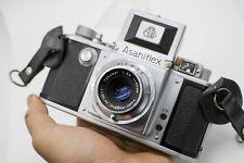 Display/Repair - Pentax Asahiflex IIa SLR Camera w/ Takumar 50mm F3.5 M37 Lens
