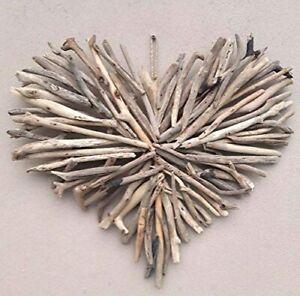 Large Driftwood Heart Wall Plaque Bali Wooden Love Heart Wedding Heart Art 60cm