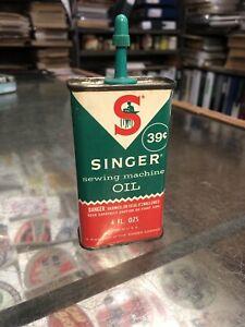 Singer Sewing Machine 4 Floz Oiler Vintage