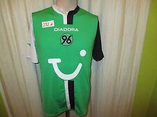 "Hannover 96 original Diadora saliente camiseta 2005/06 ""tui"" talla m top"