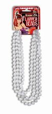 Flapper Roarin 20's Beads Faux Pearls The Great Gatsby 1920's Costume Accessory