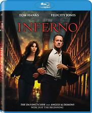 Inferno (Blu-ray) NEW Factory Sealed, Free Shipping