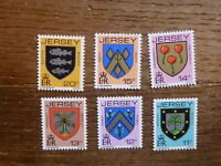 JERSEY 1981 DEFINITIVES SET 6 MINT STAMPS