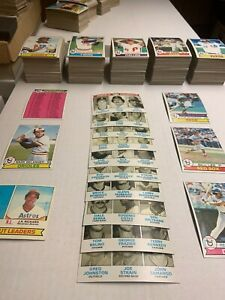 1979 Topps Baseball Cards Near Complete Set 584 All Different