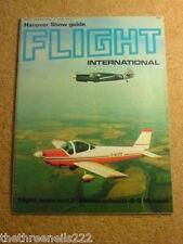 FLIGHT INTERNATIONAL #3293 - HANOVER SHOW - 20 April 1972
