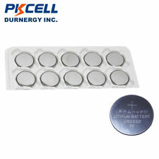 10 x Pkcell CR2330 3v 265mAh lithium Battery Button Cell/Coin FAST POST