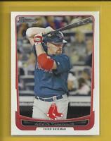 Kevin Youkilis 2012 Bowman Card # 187 Boston Red Sox Baseball MLB